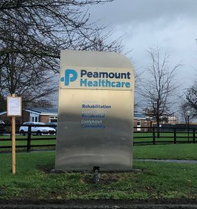 Peamount Healthcare Facility for Antoinette Case Study entry on Website